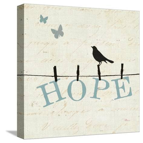 Bird Talk I-Pela Design-Stretched Canvas Print