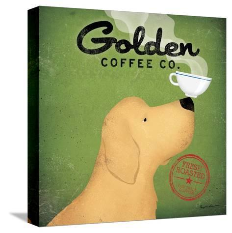 Golden Coffee Co.-Ryan Fowler-Stretched Canvas Print