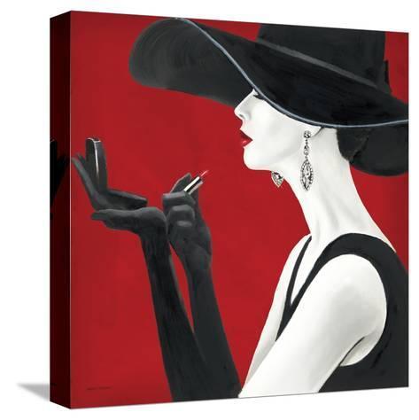 Haute Chapeau Rouge II-Marco Fabiano-Stretched Canvas Print