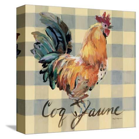 Coq Jaune-Marilyn Hageman-Stretched Canvas Print