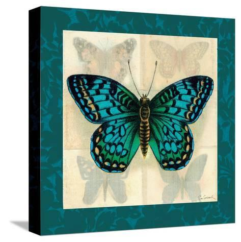 Silk Butterfly I--Stretched Canvas Print