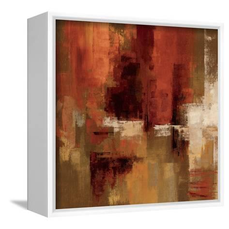 Castanets Square I--Framed Canvas Print