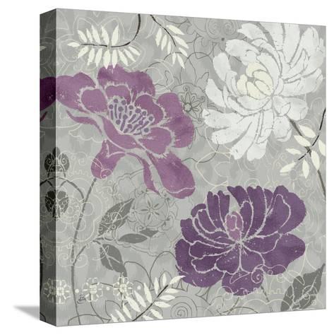 Morning Tones Purple I-Daphne Brissonnet-Stretched Canvas Print
