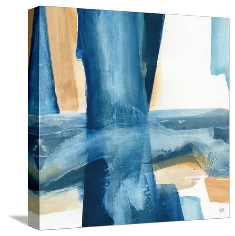 Indigo V-Chris Paschke-Stretched Canvas Print