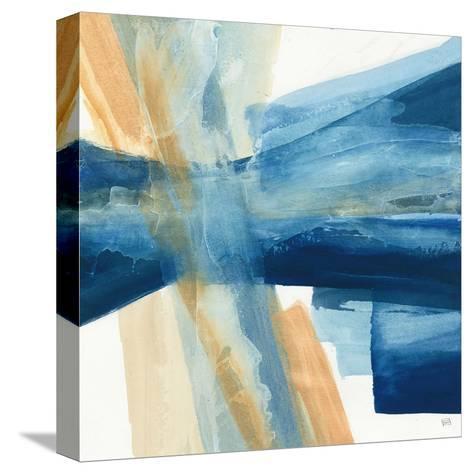 Indigo II-Chris Paschke-Stretched Canvas Print