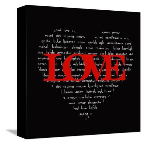 Love Heart-Anna Quach-Stretched Canvas Print