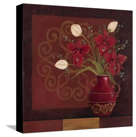 Tranquil Bouquet II-Jo Moulton-Stretched Canvas Print