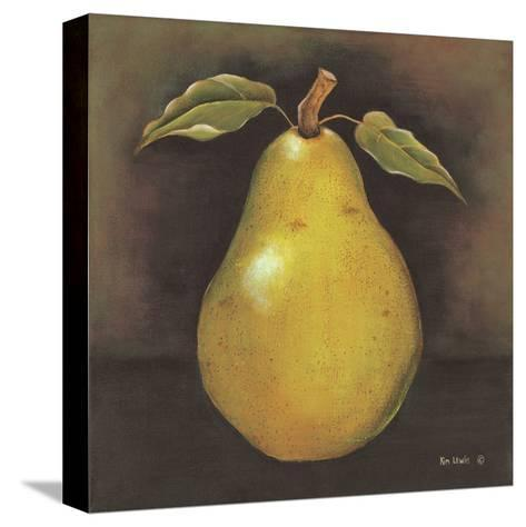 Green Pear-Kim Lewis-Stretched Canvas Print