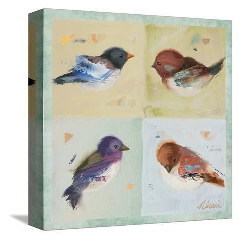 Birds I-Ninalee Irani-Stretched Canvas Print