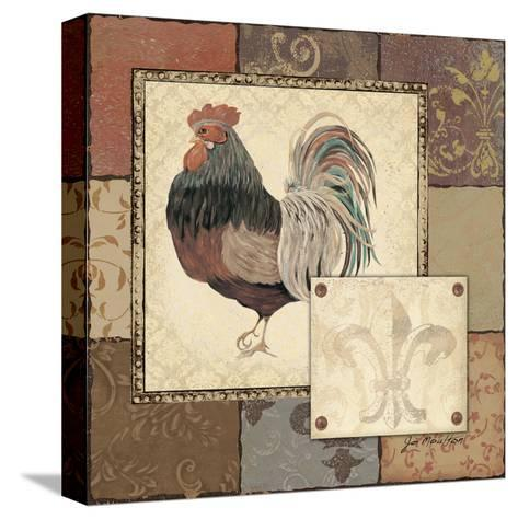 Rooster II-Jo Moulton-Stretched Canvas Print