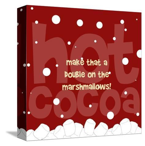 Marshmallows-Anna Quach-Stretched Canvas Print