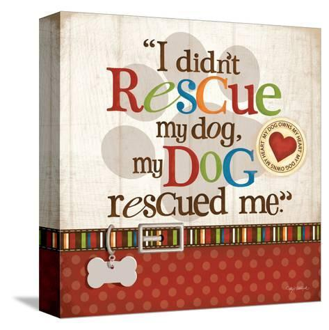 Rescue Dog-Kathy Middlebrook-Stretched Canvas Print