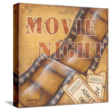 Movie Night-Kim Lewis-Stretched Canvas Print