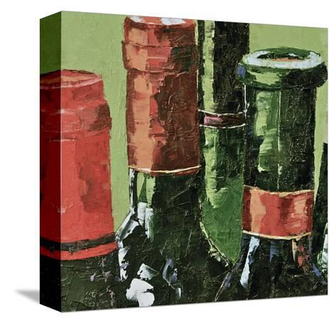 Really Big Reds--Stretched Canvas Print