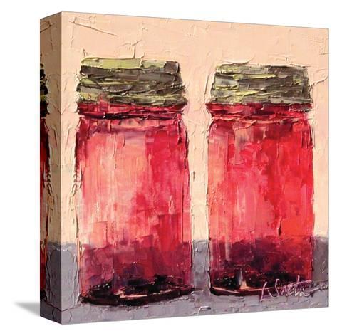 Cranberry Jars--Stretched Canvas Print