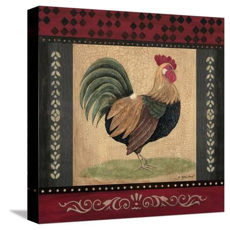Rooster-Jo Moulton-Stretched Canvas Print
