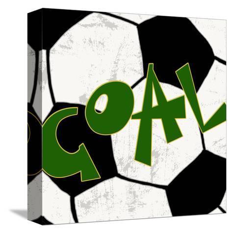 Goal-Anna Quach-Stretched Canvas Print