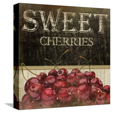 Sweet Cherries-Jennifer Pugh-Stretched Canvas Print