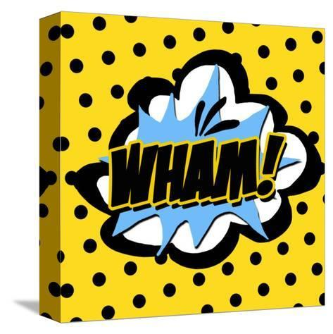 Wham-Anna Quach-Stretched Canvas Print