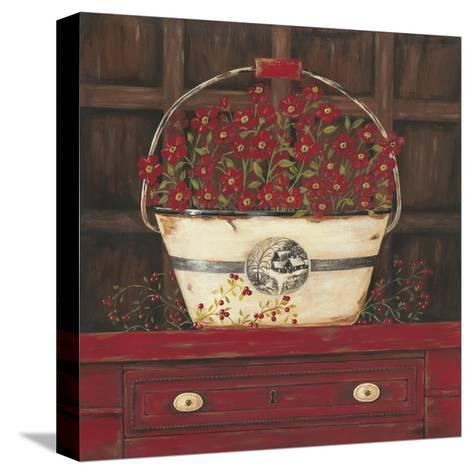 Red Cupboard II-Jo Moulton-Stretched Canvas Print
