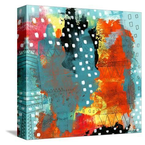Geometric Abstract I-Sarah Ogren-Stretched Canvas Print