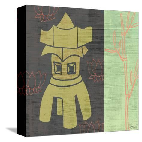 Pagoda-Shanni Welsh-Stretched Canvas Print