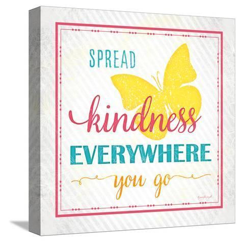 Spread Kindness-Jennifer Pugh-Stretched Canvas Print