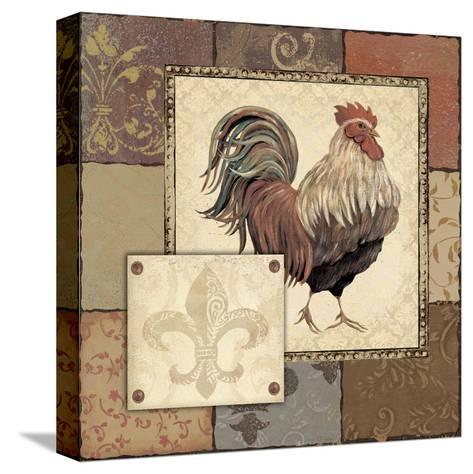 Rooster I-Jo Moulton-Stretched Canvas Print