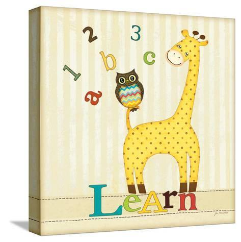 Learn-Jo Moulton-Stretched Canvas Print
