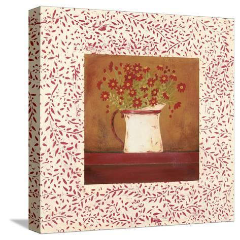 Petit Fleur I-Jo Moulton-Stretched Canvas Print