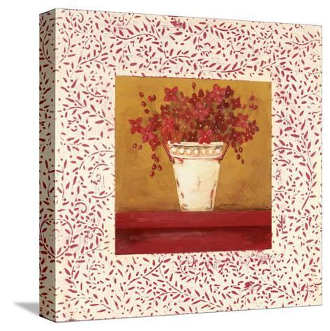 Petit Fleur II-Jo Moulton-Stretched Canvas Print