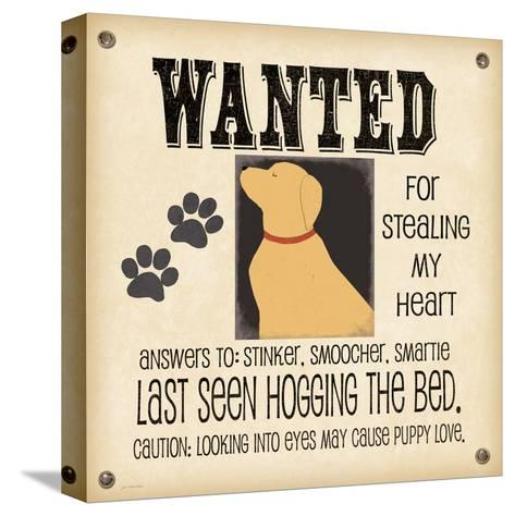 Wanted-Jo Moulton-Stretched Canvas Print
