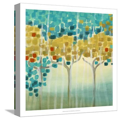 Forest Mosaic I-Erica J^ Vess-Stretched Canvas Print