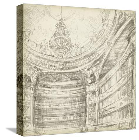 Interior Architectural Study II-Ethan Harper-Stretched Canvas Print