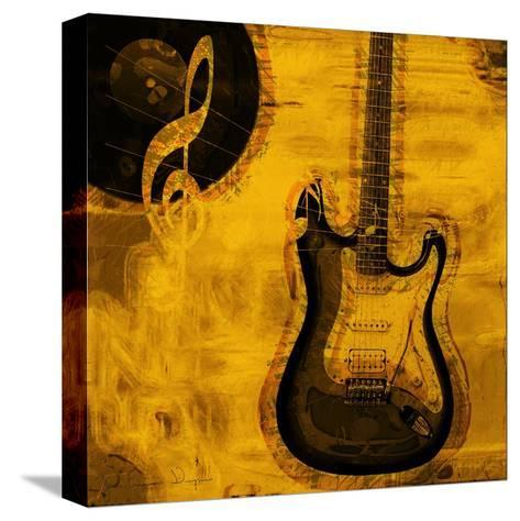 Music III-Jean-Fran?ois Dupuis-Stretched Canvas Print