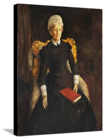 An Old Lady-Augustus Edwin John-Stretched Canvas Print