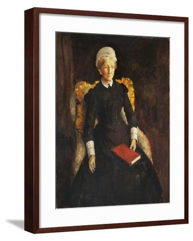 An Old Lady-Augustus Edwin John-Framed Art Print