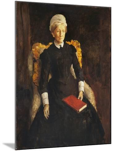 An Old Lady-Augustus Edwin John-Mounted Giclee Print