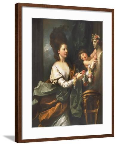 Lady Beauchamp-Proctor-Benjamin West-Framed Art Print