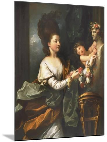 Lady Beauchamp-Proctor-Benjamin West-Mounted Giclee Print