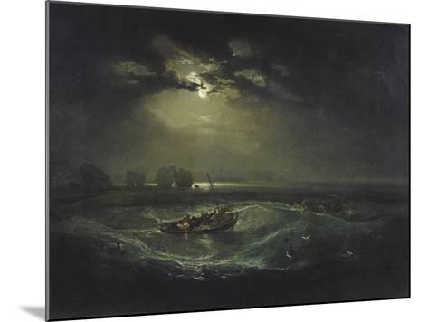 Fishermen at Sea-J^ M^ W^ Turner-Mounted Giclee Print