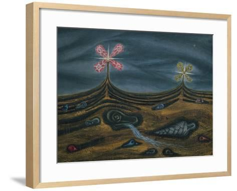 The Promise-Cecil Collins-Framed Art Print