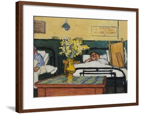 The Patient Opposite-Claude Rogers-Framed Art Print