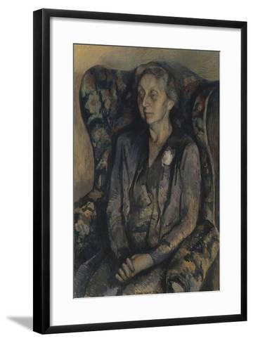 Mrs R.A. Gorer-Pavel Tchelitchew-Framed Art Print