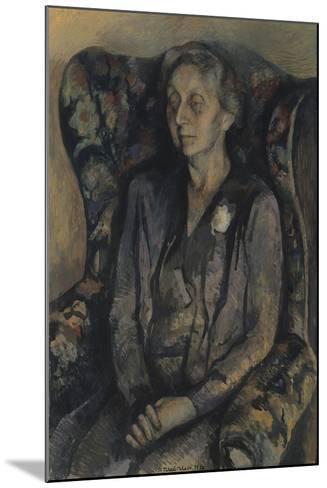 Mrs R.A. Gorer-Pavel Tchelitchew-Mounted Giclee Print