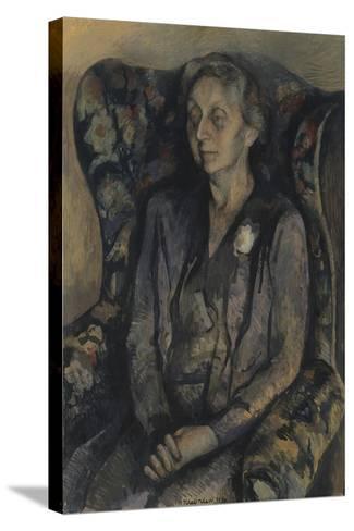 Mrs R.A. Gorer-Pavel Tchelitchew-Stretched Canvas Print