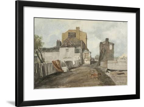 Millbank-Cornelius Varley-Framed Art Print