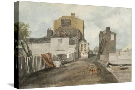 Millbank-Cornelius Varley-Stretched Canvas Print