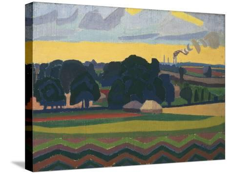 The Beanfield, Letchworth-Spencer Gore-Stretched Canvas Print