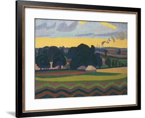 The Beanfield, Letchworth-Spencer Gore-Framed Art Print